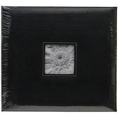 Sewn Leatherette D-Ring Scrapbook Box 13