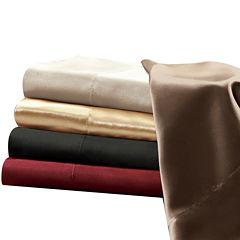Premier Comfort Solid Satin 6-pc. Sheet Set