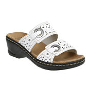 Clarks® Lexi Laurel Strap Sandals