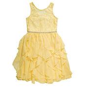 Emily West Sleeveless Fit & Flare Dress Plus - Big Kid