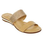 GC Shoes Jeweled Shower Sandals