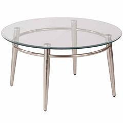 Brooklyn 30 Round Glass Coffee Table