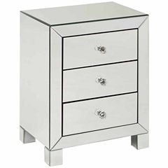 Reflections 3-Drawer End Table
