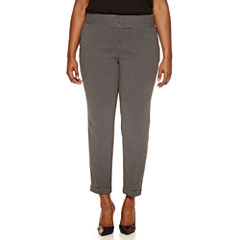 Worthington® Wide Waistband Slim Pants - Plus
