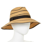 August Hat Co. Striped Panama Hat