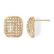 Natasha Square Stud Earrings
