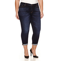 a.n.a Skinny Ankle Jeans-Plus