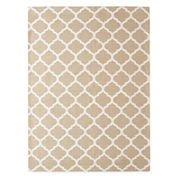 Outdoor Oasis Ogee Indoor Rectangular Rug