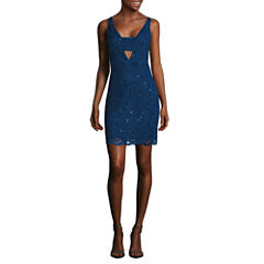 Jump Apparel Sleeveless Bodycon Dress-Juniors