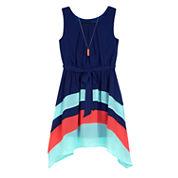 by&by girl Sleeveless Blouson Dress Plus - Big Kid