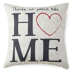 JCPenney Home™ Home Sentiment Decorative Pillow