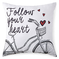 JCPenney Home™ Follow Your Heart Decorative Pillow