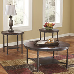 Signature Design by Ashley® Sandling Occasional Table Set Coffee Table Set