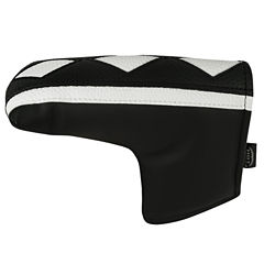 Hot-Z  L-Shape Putter Cover - Black/White Stripe