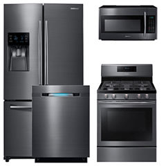 Samsung 4-pc. Gas Kitchen Package