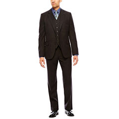 Stafford® Travel Charcoal Suit Separates  - Classic