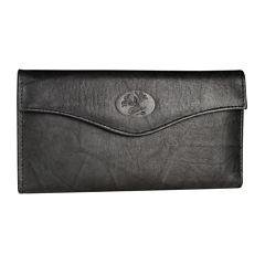 Buxton Heiress Leather Organizer Clutch Clutch Wallet