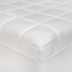 SensorPEDIC® Luxury Euro-Top Anti-Microbial Mattress Pad