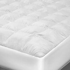 SensorPEDIC® Top Loft Luxury Gel Fiber Mattress Pad