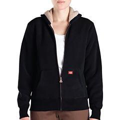 Dickies® Misses Sherpa Bonded Fleece Hoodie