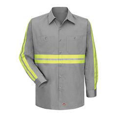 Red Kap® Enhanced Visibility Work Shirt