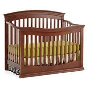 Rockland Easton Convertible Crib - Cocoa