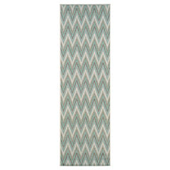Couristan® Avila Indoor/Outdoor Rectangular Runner Rug