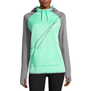 Nike® Long-Sleeve Therma All Time Swoosh Po Hoodie