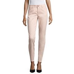 Liz Claiborne Modern Fit Ankle Pants-Petites