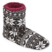 Hanes Knit Bootie Slippers