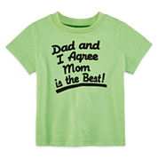 Okie Dokie Short Sleeve T-Shirt-Baby Boys
