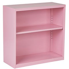 Belmont Metal 2-Shelf Bookshelf