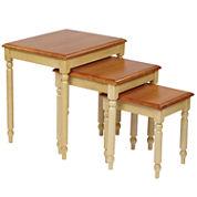Cunningham 3-pc. Nesting Tables