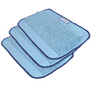 iRobot® Braava 3-Pack Microfiber Cleaning Cloths, Mixed