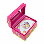 Shopkins Mirror Jewelry Box With Pendant