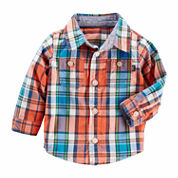 Oshkosh Long Sleeve Button Down - Boys