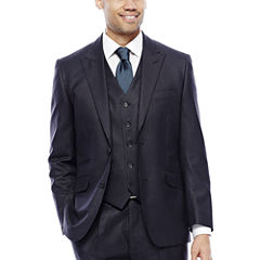 Steve Harvey® Charcoal Check Suit Jacket
