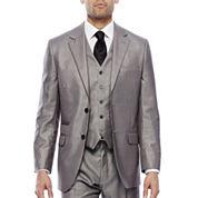 Steve Harvey® Black & White Plaid Suit Jacket - Classic