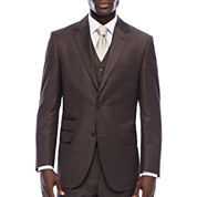 Steve Harvey® Brown Shantung Suit Jacket
