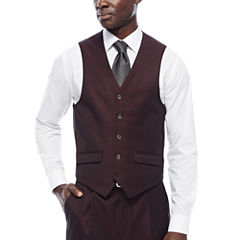 Steve Harvey® Merlot Suit Vest