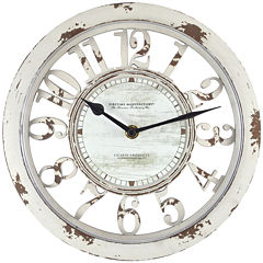 FirsTime® Antique Contour Clock