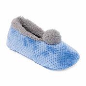 Hanes Plush Ballerina Slippers