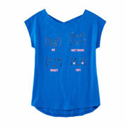Total Girl Girls Graphic T-Shirt-Girls 7-16 and Plus