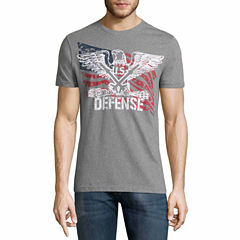 Lee Short Sleeve Crew Neck T-Shirt-Big and Tall