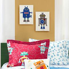 Mi Zone Mr  Robot And Friend 2-pc. Canvas Art