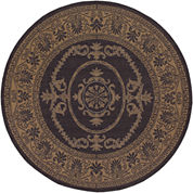 Couristan® Antique Medallion Indoor/Outdoor Round Rug