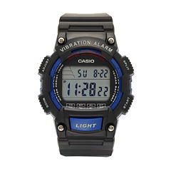 Casio Table Mens Black Strap Watch-W736h-1av