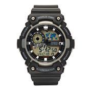 Casio Mens Black Strap Watch-Aeq200w-1av