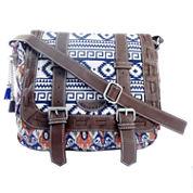 Union Bay Aztec Print Messenger Bag