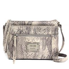 nicole By Nicole Miller Mia Large Crossbody Bag